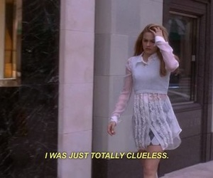 Clueless, 90s, and quote image