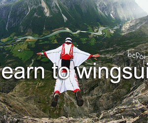 -things i want to do and -wingsuit image