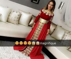 beau, maroc, and rouge image