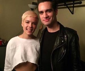 halsey, brendon urie, and panic! at the disco image