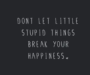 happiness, quotes, and things image