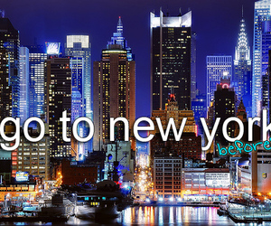 before i die, new york, and ny image