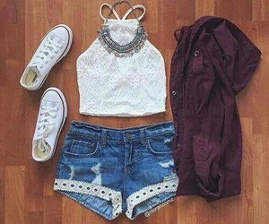 outfit, summer, and tumblr image
