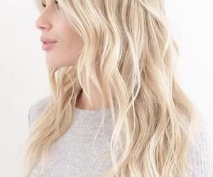 blonde, gorgeous, and messy image
