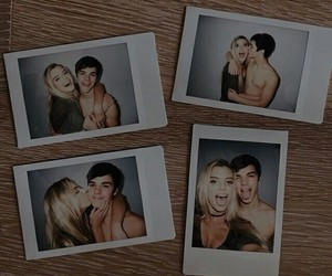 couple, polaroid, and alissa violet image
