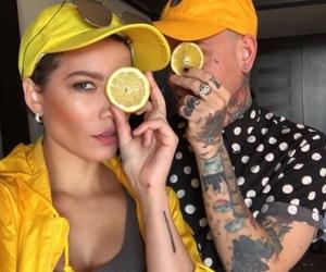 halsey and yellow image