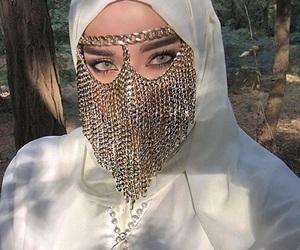 arab, arabian, and hijab image
