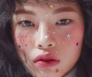 stars, model, and aesthetic image
