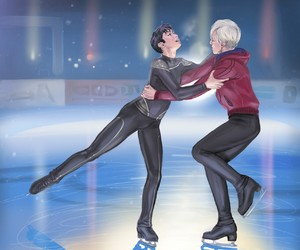 anime, yoi, and yuri on ice image