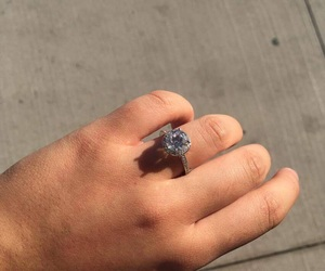 tiffany & co, engagement ring, and love image