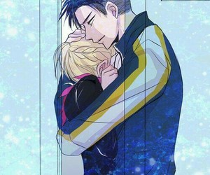 yuri on ice, otabek, and otayuri image