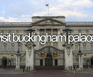 london, before i die, and Buckingham palace image