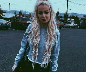 tana mongeau and hair image