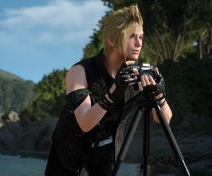 model, prompto, and ffxv image