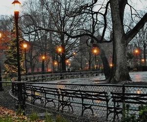 america, new york, and winter image