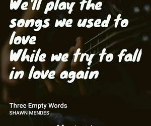Lyrics, quotes, and shawn mendes image
