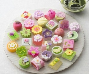 candy, japanese, and food image