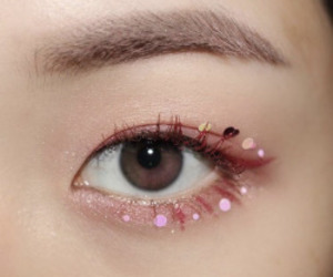 aesthetic, makeup, and asian image