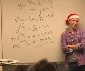 christmas, teacher, and funny image
