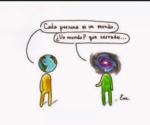 frases, world, and galaxy image