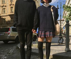 couple, fashion, and grunge image