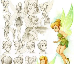 disney, tinker bell, and tinkerbell image