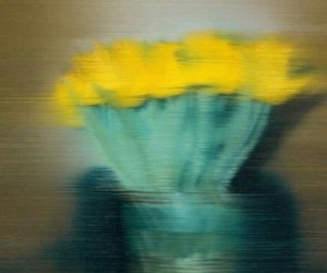 tulips, art, and Gerhard Richter image