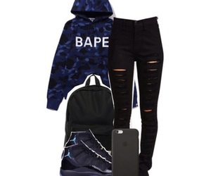 bape, dope, and ootd image