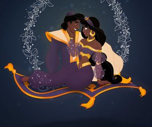 aladdin, disney, and fanart image