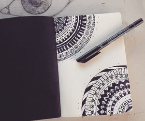 drawing, art, and artistic image