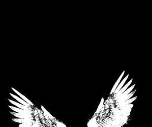 alternative, angel, and black image