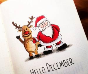 art, Art Book, and christmas image