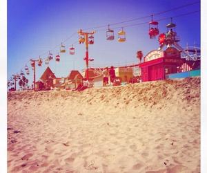 photography, sand, and sky image