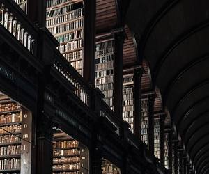 books, knowledge, and library image