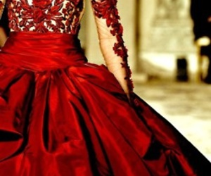elegant, gown, and haute couture image