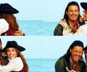 will and elizabeth, love, and pirates of the carribbean image