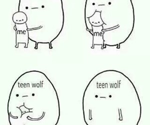 anxiety, teen wolf, and me image