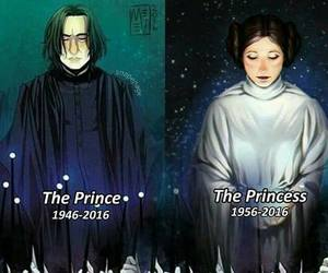 alan rickman and carrie fisher image