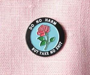 grunge, rock, and rose image