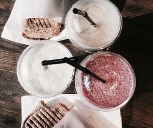 food, drink, and milkshake image