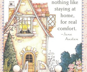 home, quotes, and jane austen image