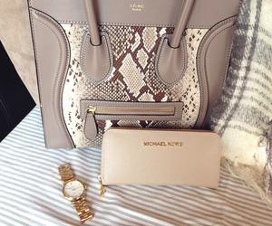 bag, celine, and Michael Kors image