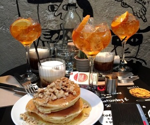 breakfast, brunch, and drinks image