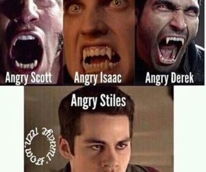 teen wolf, stiles, and isaac image