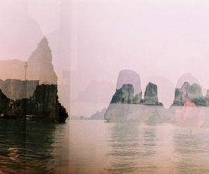 fade, Island, and ocean image