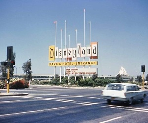 disneyland, disney, and retro image