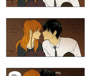 cheese in the trap, webtoon, and yoo jung image