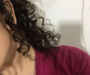 art, curly, and glam image