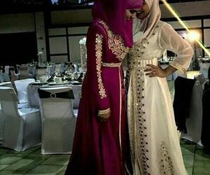 dress, hijab, and moroccan image
