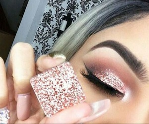 classy, eyeliner, and nails image